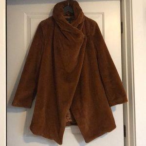 Forever 21 cognac colored blanket coat sz-s